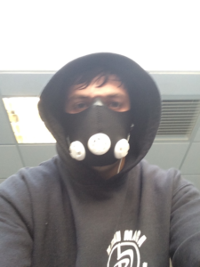 Krav Maga Training Altitude mask