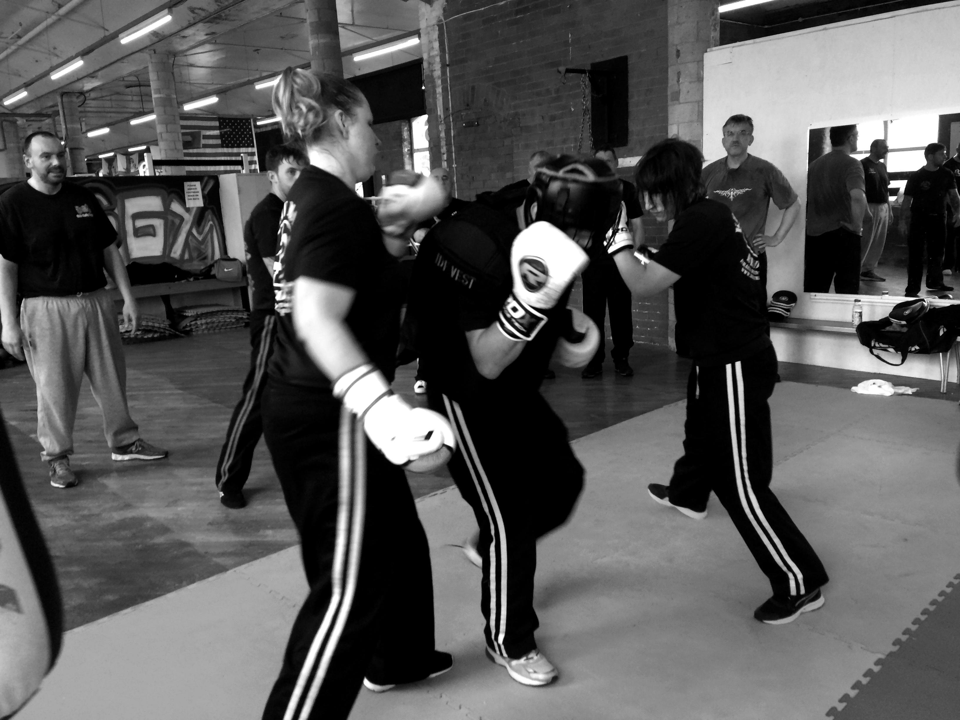 Training at Martial Krav Maga