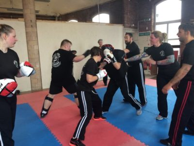 Self defence Pressure test
