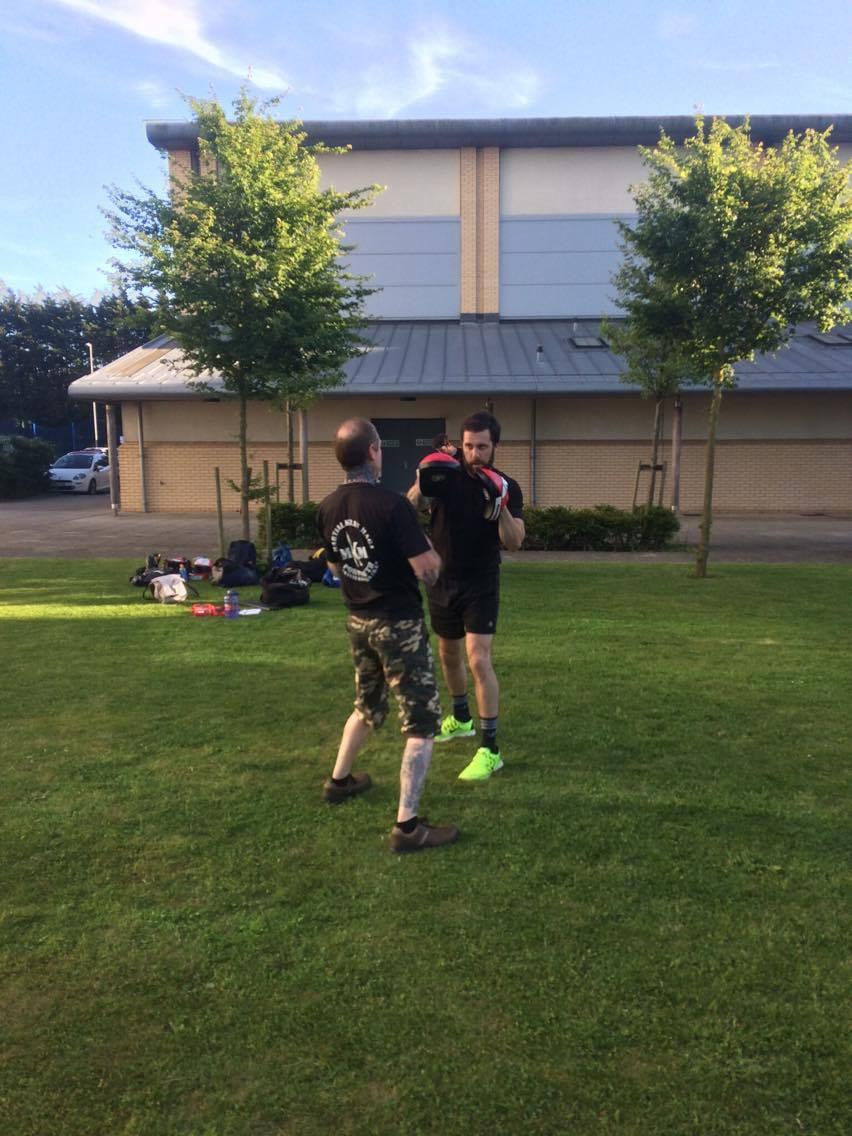 Martial Krav Maga Outdoor Training