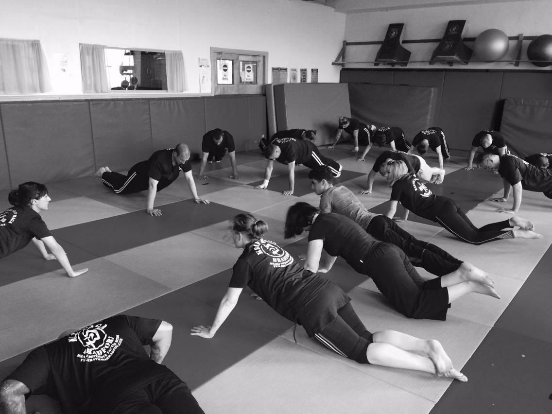 Martial Krav Maga Stretching