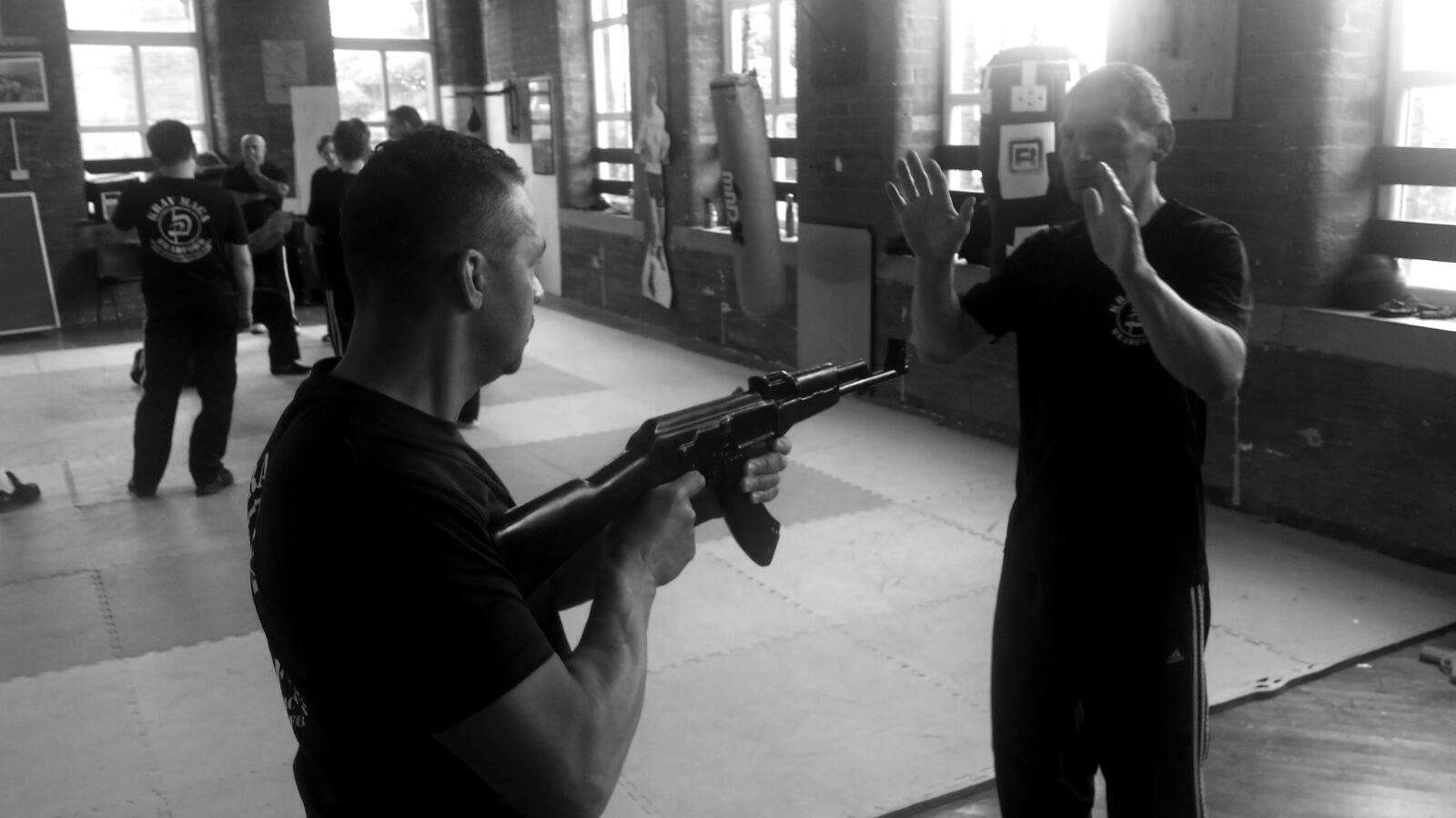 Krav Maga Gun Defence