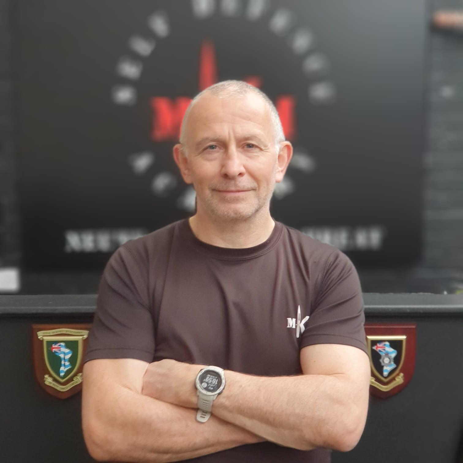 Ian Desbottes mkm instructor