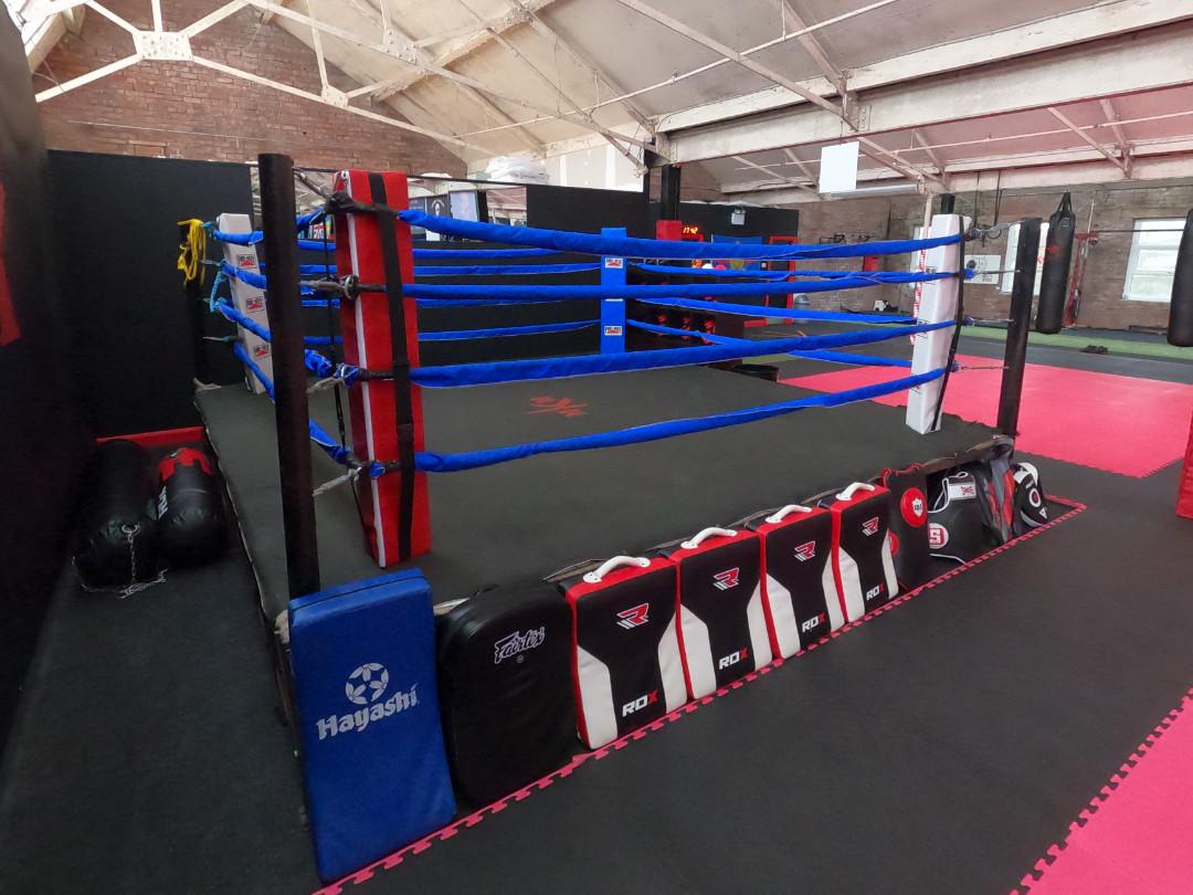 MKM Boxing & MMA Ring