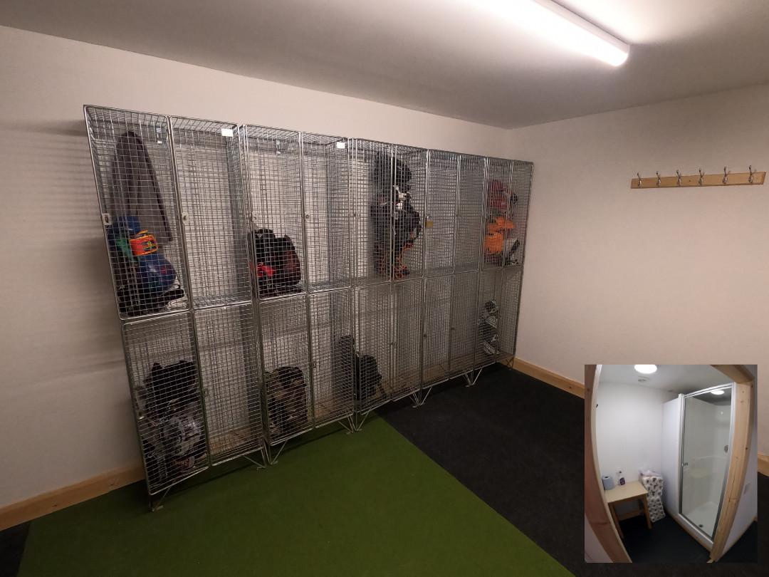 MKM changing Room Lockers & Shower