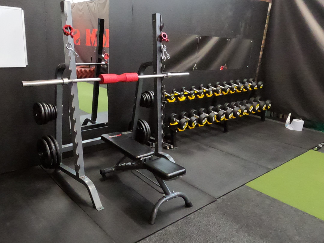 MKM Free Weights Training Area