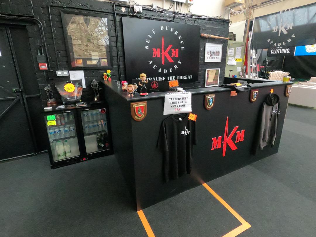 MKM Reception Area