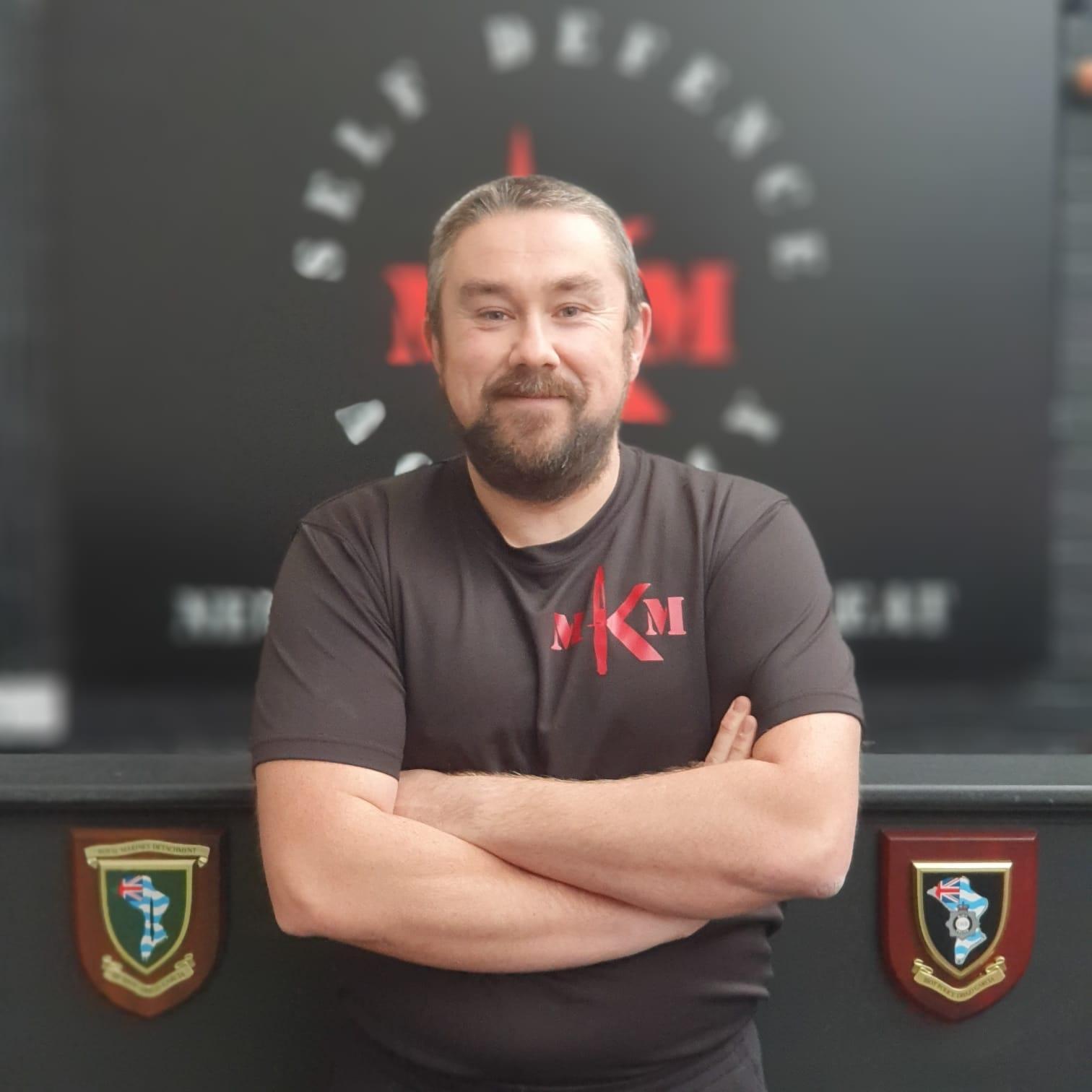 Simon Pridmore mkm instructor